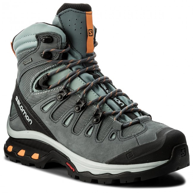 Salomon QUEST 4D 3 GTX - Walking boots - lead/stormy weather/bird of paradis XQTbLPApO2