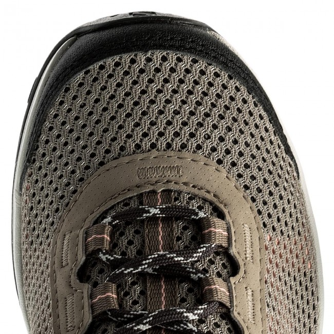 Trekker Boots SALOMON - Ellipse Mehari 401591 21 M0 Vintage Kaki Phantom Coral  Almond - Trekker boots - Low shoes - Women s shoes - www.efootwear.eu 365d7c5bd58