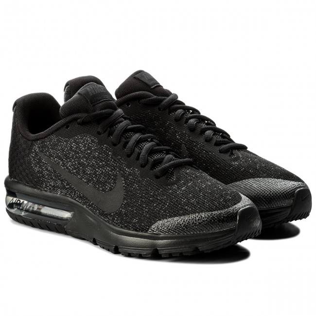 Shoes NIKE Air Max Sequent 2 (GS) 869993 009 BlackBlackAnthracite