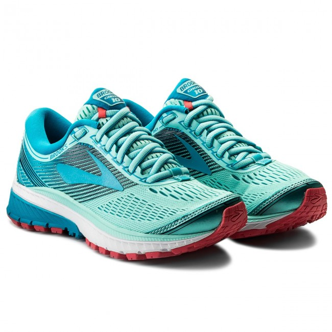 e1b6b92269cd3 Shoes BROOKS - Ghost 10 120246 1B 462 Mint Blue Pink - Indoor - Running  shoes - Sports shoes - Women s shoes - www.efootwear.eu