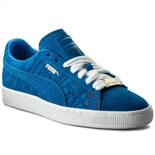 93bd579a701 Sneakers PUMA - Suede Classic Paris 366298 01 Electric Blue Lemonade ...