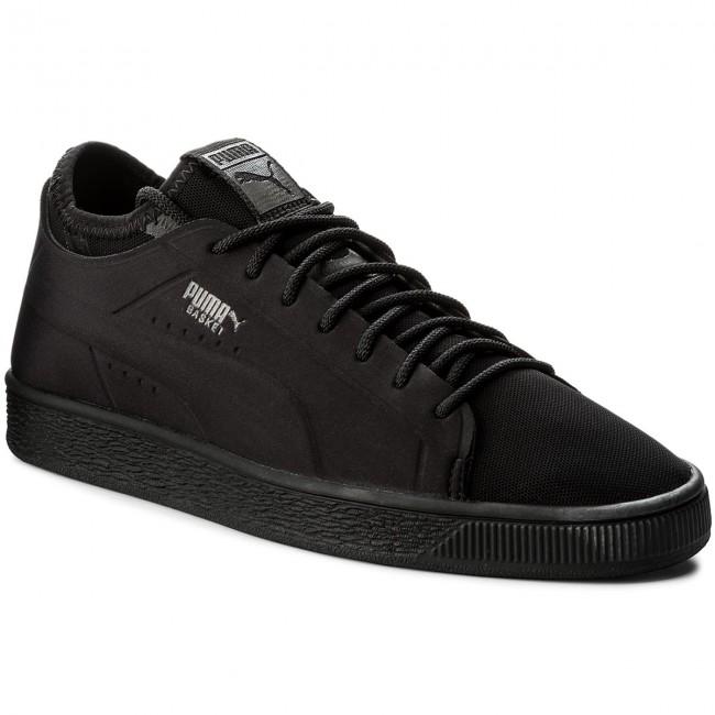 Blk PUMA Sneakers 365370 Lo BlkPuma Classic Puma 01 Basket Sock BlkPuma AqPwq