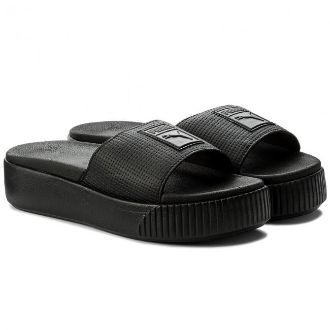 0c4e554fe49 Slides PUMA - Platform Slide Wns Ep 366122 02 Puma Black - Casual mules -  Mules - Mules and sandals - Women s shoes - www.efootwear.eu