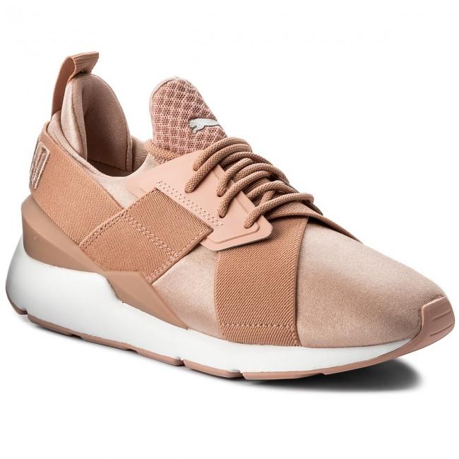 Sneakers PUMA - Muse Satin Ep 365534 01 Peach Beige Puma White ... d133e38b1