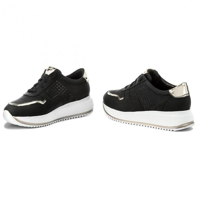 Sneakers NESSI - JC019 Black Mat