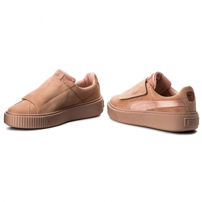 Sneakers PUMA - Platform Strap Satin EP 366009 01 Peach Beige Peach Beige  Rose 46e507ee0