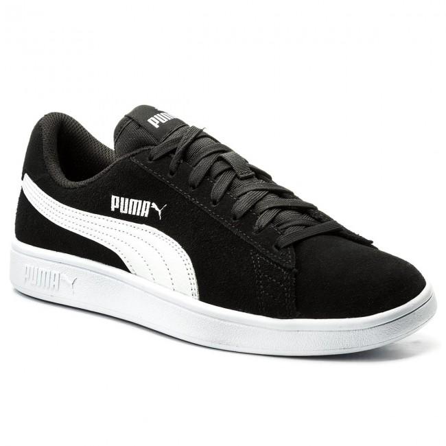 92d2510efe46 Sneakers PUMA - Smash V2 364989 01 Black Puma White Puma Silver ...