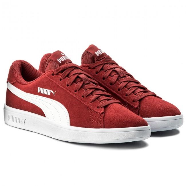 puma smash red