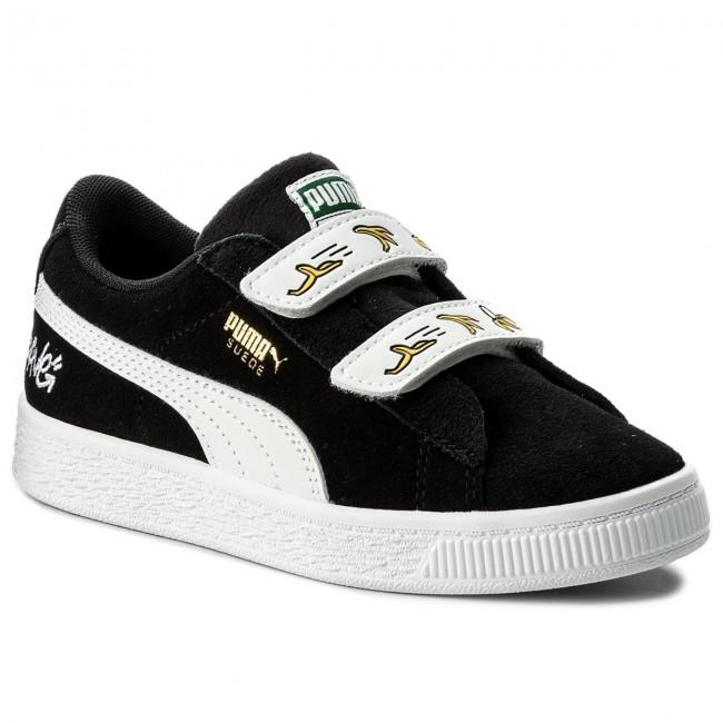 a60cf4f48ab137 Shoes PUMA - Minions Suede V Ps 365528 03 Puma Black Puma White ...