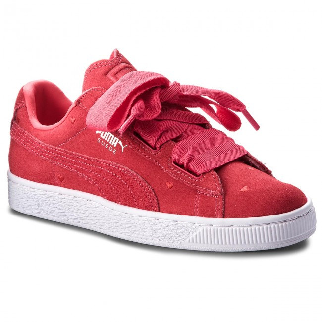 3a2b3eaf77cad Sneakers PUMA - Suede Heart Valentine Jr 365135 01 Paradise Pink Paradise  Pink