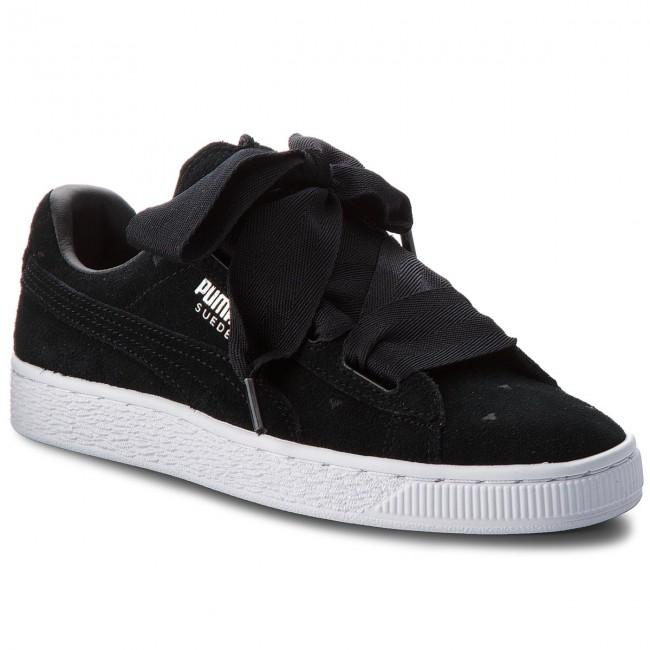 824850a179d04 Sneakers PUMA - Suede Heart Valentine Jr 365135 02 Puma Black Puma ...