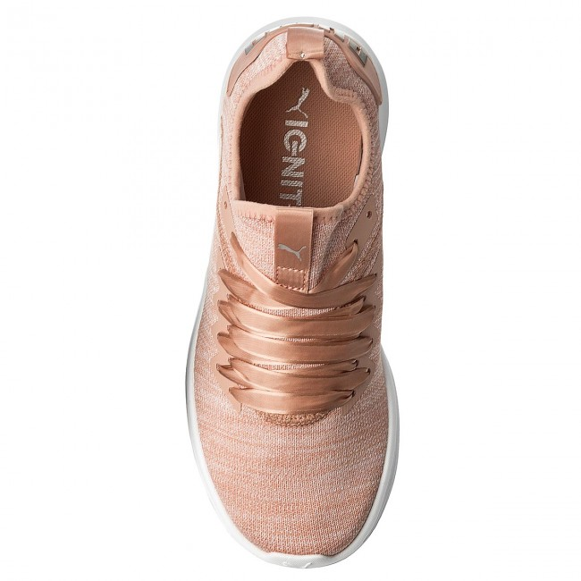 timeless design c26db 2c973 Shoes PUMA - Ignite Flash EvoKnit S Ep Wn 190959 02 Peach Beige/Peral/White