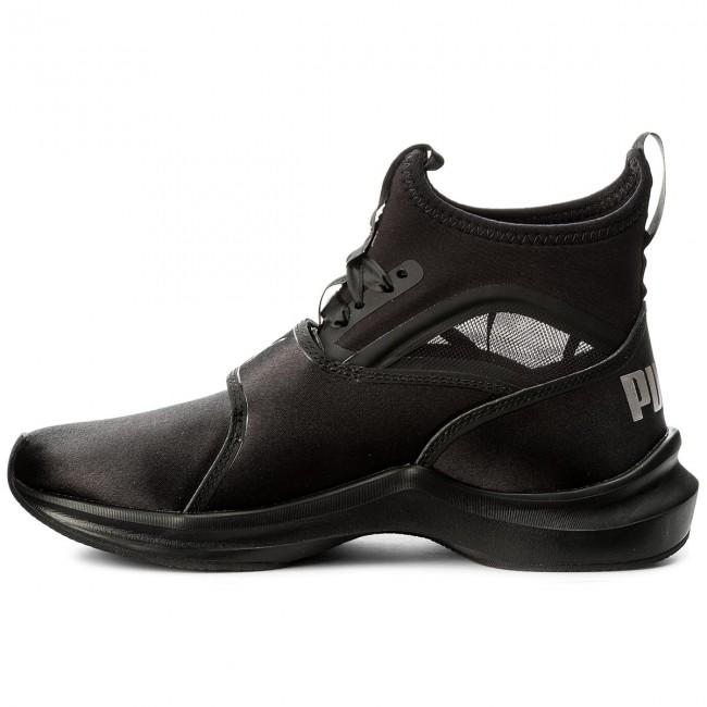 4764eee8fb5 Shoes PUMA - Phenom Satin Ep 190519 01 Puma Black Puma Black - Fitness -  Sports shoes - Women s shoes - www.efootwear.eu