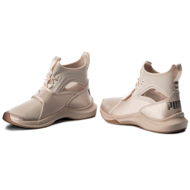 dcd06a71cd89a1 Shoes PUMA - Phenom Satin EP Wn s 190519 02 Pearl Pearl - Fitness ...