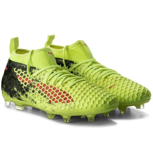 62328e987 Shoes PUMA - Future 18.2 Netfit Fg/Ag 104321 01 Yellow/Red/Black - Football  - Sports shoes - Men's shoes - efootwear.eu