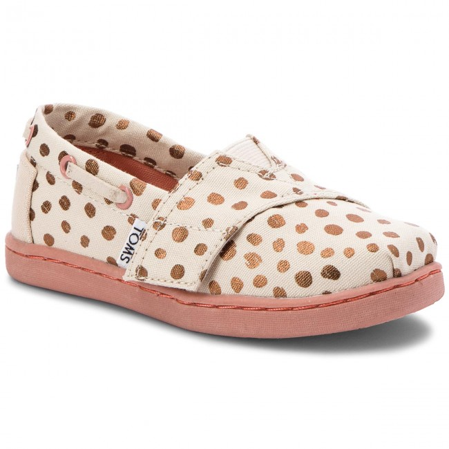 4a30f4c2c25 Shoes TOMS - Bimini 10011546 Rose Gold Dots - Velcro - Low shoes ...