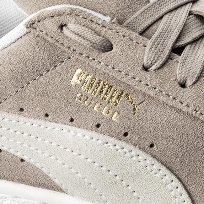 Sneakers PUMA - Suede Classic 365347 01 Ash Puma White - Sneakers ... 3a115432e94a
