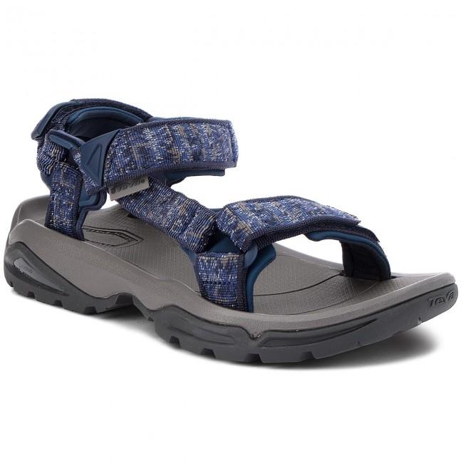 Sandals TEVA - Terra Fi 4 1004485 Rocio Blue - Sandals - Mules and ... 90ab371e62