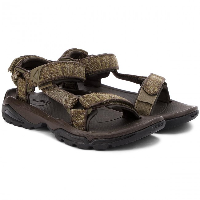 365abed1901 Sandals TEVA - Terra Fi 4 1004485 Rocio Olive - Sandals - Mules and sandals  - Men s shoes - www.efootwear.eu