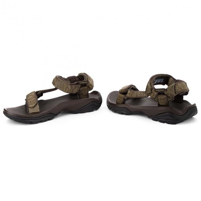 232e29902fb9 Sandals TEVA - Terra Fi 4 1004485 Rocio Olive - Sandals - Mules and ...