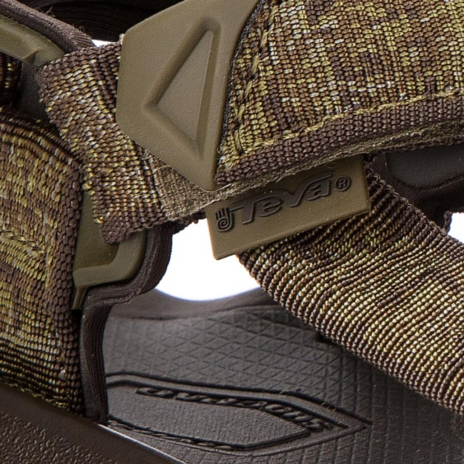 816bb7dede6f Sandals TEVA - Terra Fi 4 1004485 Rocio Olive - Sandals - Mules and ...