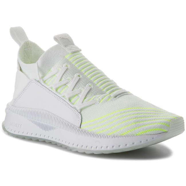 c2f3ca6cd21 Sneakers PUMA - Tsugi Jun Pace 366068 01 Puma White/Pale Lime Yellow ...