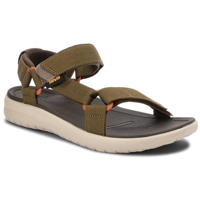 9c0d179160c Sandals TEVA - Sanborn Universal 1015156 Olive - Sandals - Mules and ...