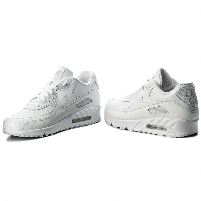 san francisco ce508 87a4b Shoes NIKE - Air Max 90 Leather 302519 113 True WhiteTrue White
