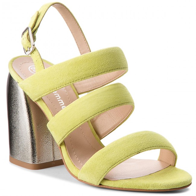 Sandals H51000 Casual 07 SOLO FEMME 00 Pistacja 57 26480 rSIrgq4