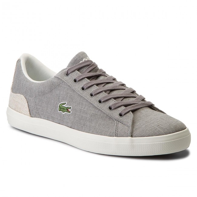 Sneakers LACOSTE - Lerond 218 1 Cam 7-35CAM00756H2 Gry Nat ... 3fc9db25d04