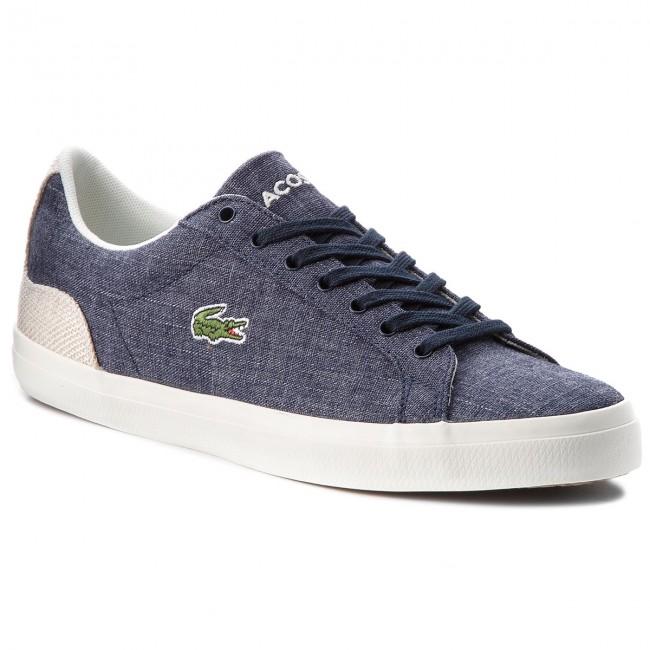 Sneakers LACOSTE - Lerond 218 1 Cam 7-35CAM007567F Nvy Nat ... c99c546216d