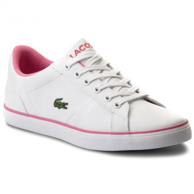 3bbf31ea4 Sneakers LACOSTE - Lerond 218 2 Caj 7-35CAJ0016B53 Wht Pnk ...