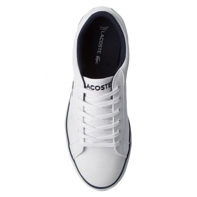 ab9d35cb558a06 Sneakers LACOSTE - Lerond 218 2 Caj 7-35CAJ0016042 Wht Nvy - Sneakers - Low  shoes - Women s shoes - www.efootwear.eu