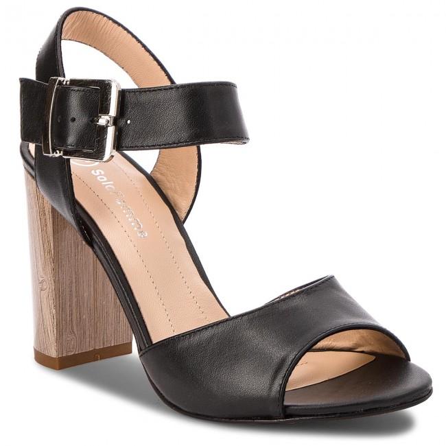 9438f22fddfc Sandals SOLO FEMME - 62450-35-H74 000-07-00 Black - Casual sandals ...