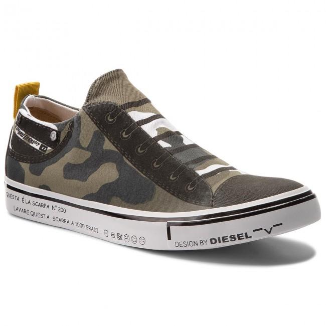 Diesel S-Diesel Imaginee Low Top Sneaker Slip-On Schuhe Y01700-P1640-H5254