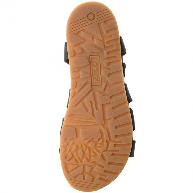 Sandalen TIMBERLAND - Malibu Waves Ankle A1MR3 Jet Black dR6iBuVJ
