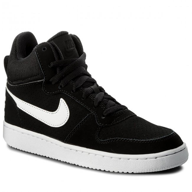 uk availability 19f14 42a08 Shoes NIKE - Court Borough Mid 844906 010 Black White - Sneakers ...