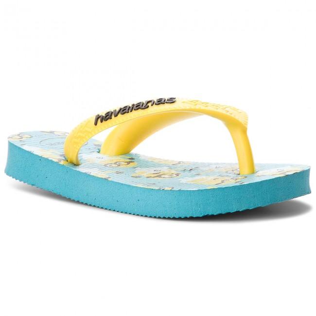 5de925625 Slides HAVAIANAS - H.Minions H41331670031 Azul - Flip-flops - Clogs ...