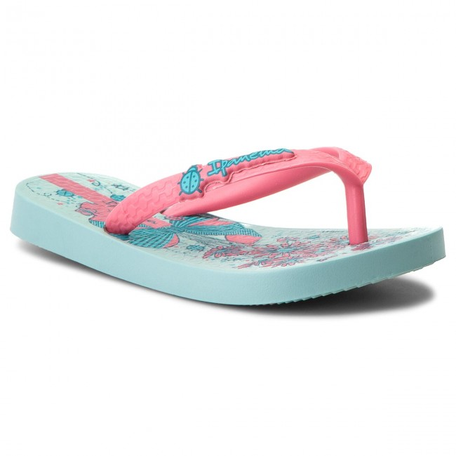 8f69972afb5 Slides IPANEMA - Ipanema Temas XI Kids 82303 Green/Pink 22299 - Flip ...