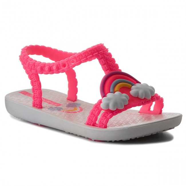 cc0e8771d Sandals IPANEMA - My First Ipanema III Baby 82307 White Pink Neon ...