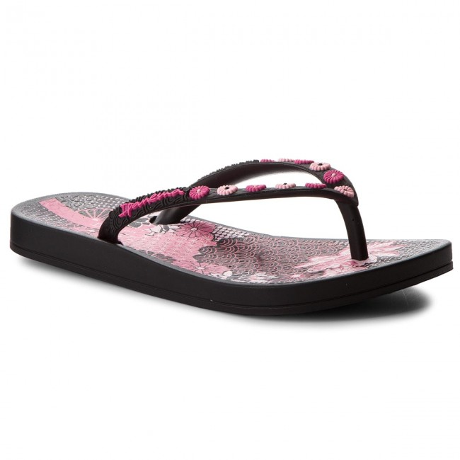 daa08706f55 Slides IPANEMA - Anat Lovely Kids 82387 Black/Black 20766 - Flip ...