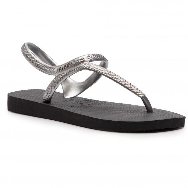 07be4cb9a Sandals HAVAIANAS - Fl Urban 40000392976 Black Silver - Casual ...