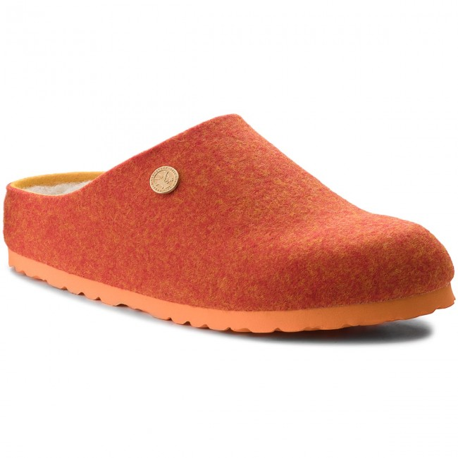 04c56dbaaf3 Slippers BIRKENSTOCK - Kaprun Rivet 1012426 Doubleface Orange ...