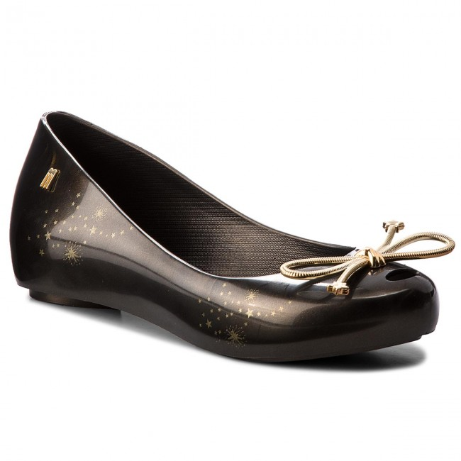 eeba9e2fd6 Flats MELISSA - Ultragirl Elements Ad 32390 Black/Gold 06493 ...
