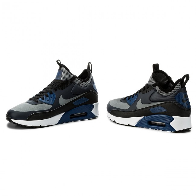 size 40 bba28 6d375 Shoes NIKE - Air Max 90 Ultra Mid Winter 924458 401 Obsidian/Cool Grey/