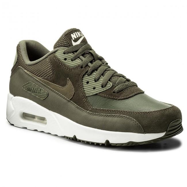 Shoes NIKE - Air Max 90 Ultra 2.0 Ltr 924447 300 Cargo Khaki/Medium Olive