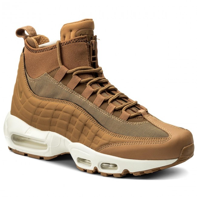 ab02674bce Shoes NIKE. Air Max 95 Sneakerboot 806809 201 Flax/Flax/Ale Brown/Sail