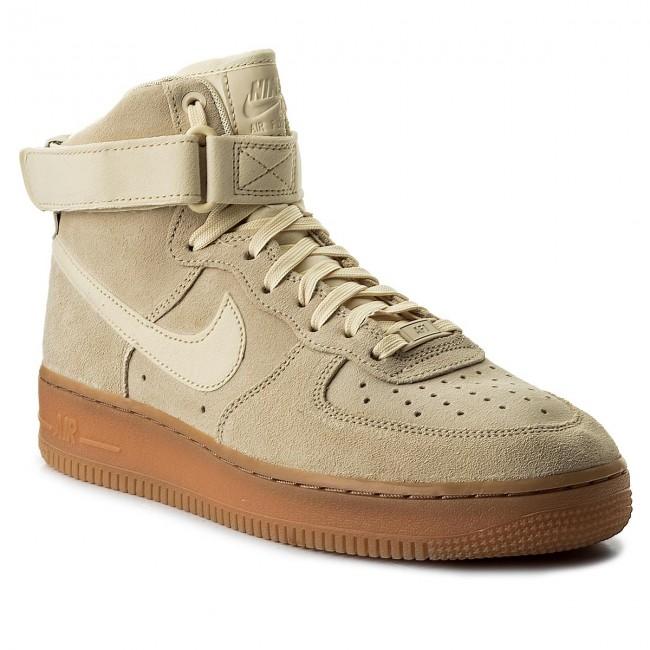 super popular 634c4 a528f Shoes NIKE - Air Force 1 High AA1118 100 MuslinMuslinGum Med Brown
