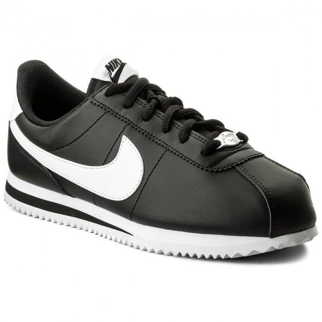 8fd42f7b5c Shoes NIKE - Cortez Basic Sl (GS) 904764 001 Black/White - Sneakers ...