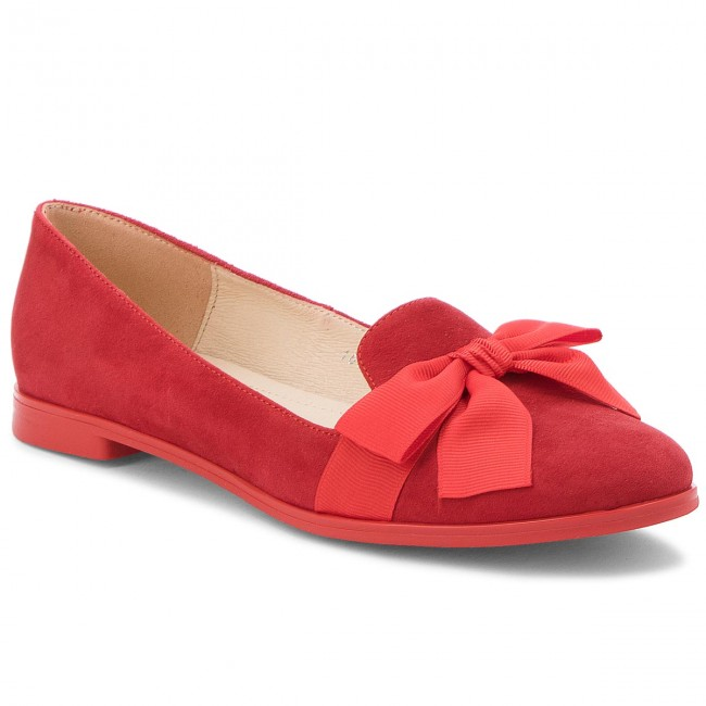 Lords Schuhe BALDACCINI - 101300-7 Czerwony Zamsz Lmq0YLGgw
